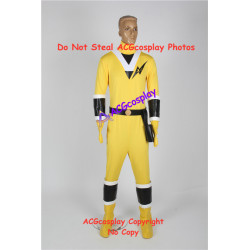 Power rangers Mighty Morphin Alien Rangers Yellow Ranger kaku ranger cosplay costume