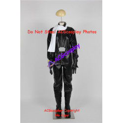 Tokumei Sentai Go Busters Black Puma Takeshi Kuroki black buster cosplay costume