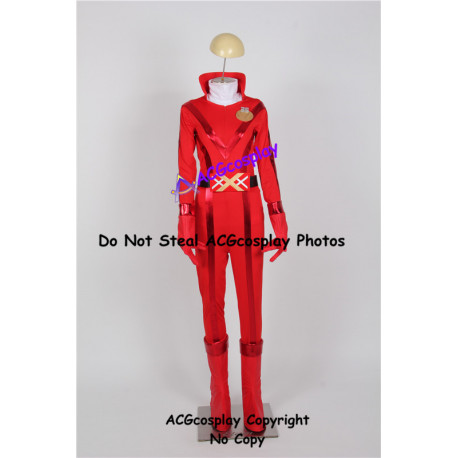 Power Rangers Akared Cosplay Costume include boots covers ACGcosplay