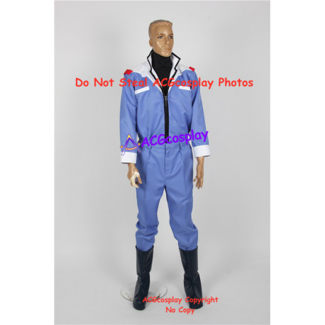 Mobile Suit Zeta Gundam The pilot Kamille Bidan cosplay costume include boots covers