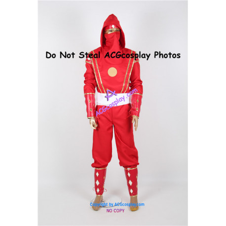 Power Rangers Red Ninjetti Ninja Ranger Cosplay Costume
