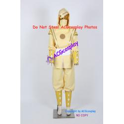 Mighty Morphin Power Rangers Yellow Ninjetti Ranger Cosplay Costume