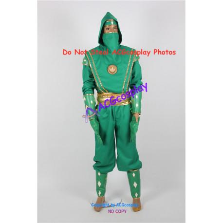 Power Rangers Green Ninjetti NinjaRanger Cosplay Costume ACGcosplay