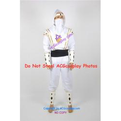 Power Rangers White Ninjetti Ranger Cosplay Costume ACGcosplay
