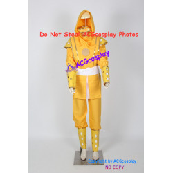 Power Rangers Yellow Ninjetti Ranger Cosplay Costume ninja ranger costume