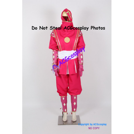 Mighty Morphin Power Rangers Pink Ninjetti Ranger Cosplay Costume