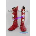 Power Rangers Red Ninjetti Ranger Cosplay Shoes boots