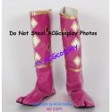 Mighty Morphin Power Rangers Pink Ninjetti Ranger Cosplay shoes boots
