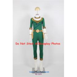 Power Rangers Zeo Green Zeo Ranger Cosplay Costume