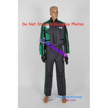 Power Rangers SPD Green Ranger Cosplay Costume