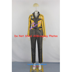 Power Rangers SPD Sydney Drew yellow ranger Cosplay Costume