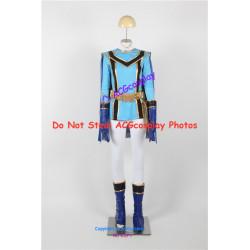 Power Rangers Mystic Force Blue Mystic Ranger Cosplay Costume