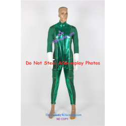 Power Rangers Super Power Beat Down Green Ranger Cosplay Costume