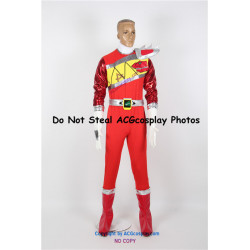 Power Rangers Dino Charge Kyoryuger Red Ranger Cosplay Costume
