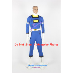 Power Rangers Turbo Blue Turbo Ranger Cosplay Costume