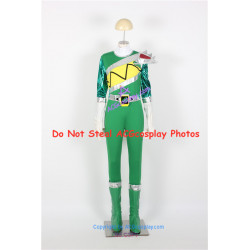 Power Rangers Dino Charge Kyoryuger Green Ranger Cosplay Costume