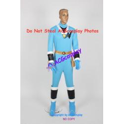 Power rangers Saizou ninja blue ranger Kaku ranger cosplay costume