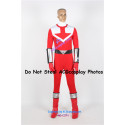 Power Rangers Time Force Time Force Red Ranger Cosplay Costume