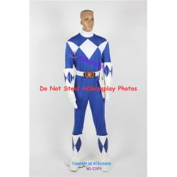 Mighty Morphin Power Rangers Blue Ranger Cosplay Costume