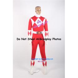 Power Rangers Red Ranger Cosplay Costume