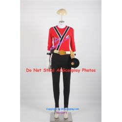 Mighty Morphin Power Rangers Samurai shinkenmaru red ranger Cosplay Costume