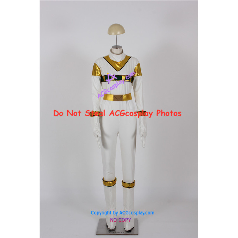 power rangers in space zhane silver space ranger cosplay costume usd