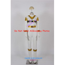 Power Rangers in Space Zhane Silver Space Ranger Cosplay Costume