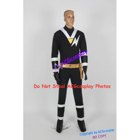 Power rangers Jiraiya ninja black ranger Kaku ranger cosplay costume
