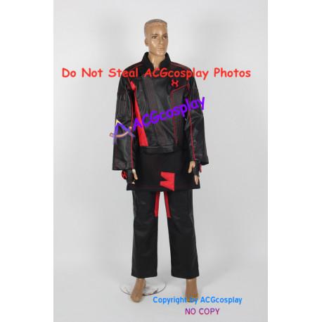 Power ranger Ninja Storm Shane Clarke cosplay costume include coins prop