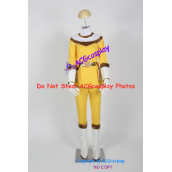 Power rangers yellow zeo ranger tanya cosplay costume acgcosplay