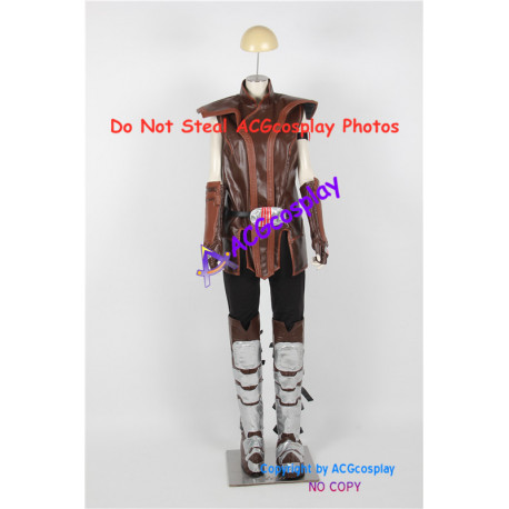 Star Wars Cosplay Satele Shan Cosplay Costume