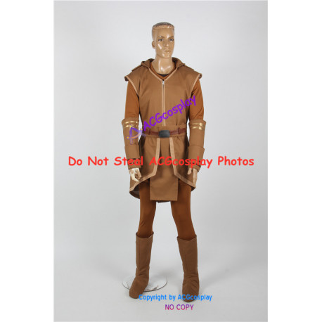 Star Wars Cosplay  Jedi Robe Cosplay Costume include boots covers