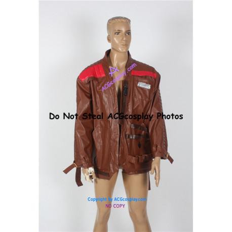 Star Wars The Force Awakens Cosplay Finn Calrissian Jacket Cosplay Costume