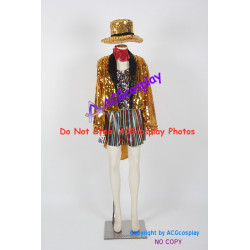 The Rocky Horror Picture Show Columbia Cosplay Costume include hat