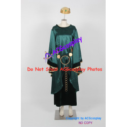 Disney Brave Queen Elinor Cosplay Costume