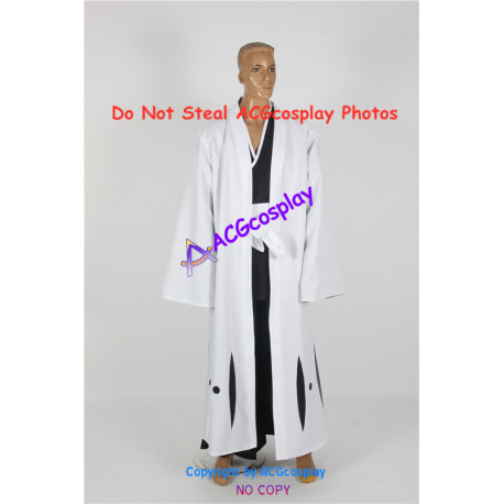 Bleach Kisuke Urahara Captain of Squad 12 cosplay costume with lining
