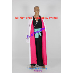 Bleach cosplay Shunsui Captain of Squad 8 with lining cosplay costume