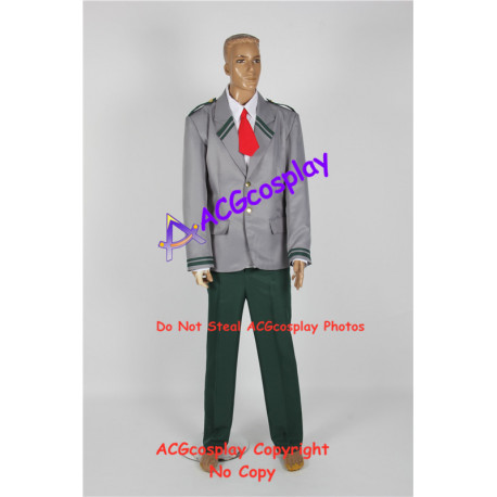 My Hero Academia Izuku male uniform cosplay costume include tie