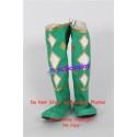 Power Rangers Green Ninjetti Ranger Cosplay Shoes boots none split toe