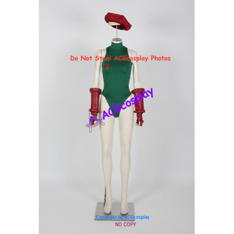 Street Fighter Cosplay Cammy Bodysuit Cosplay Costume