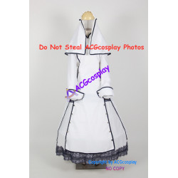 Trinity Blood Esther Blanchett Cosplay Costume include petticoat