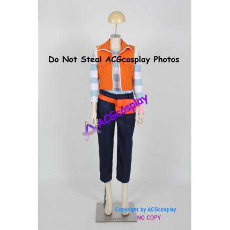 Yu gi oh 5Ds Carly Nagisa Cosplay Costume include bag