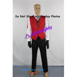 Persona 3 Sanada Akihiko Cosplay Costume include gloves