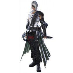 Final Fantasy xiv thancred cosplay costume include prop ornaments