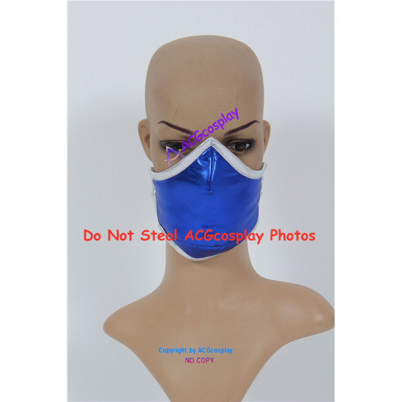 Mortal Kombat Kitana Cosplay Costume Include Mask And Boots Covers