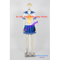 Lucky Star Female Uniform Cosplay Costume school uniform
