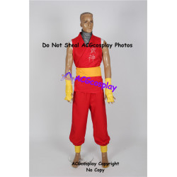 Street Fighter Zero 3 Guy Cosplay Costume