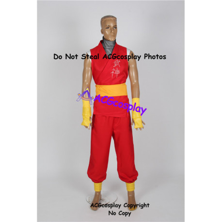Street Fighter Zero 3 Guy Cosplay Costume