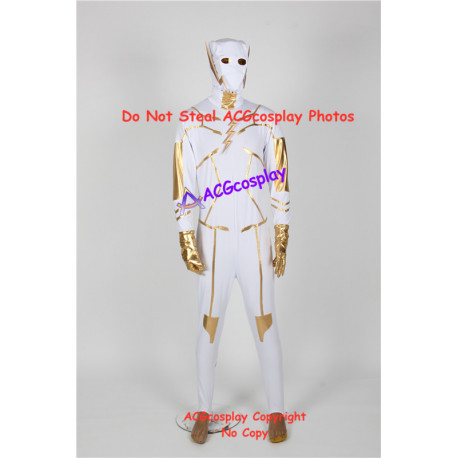 DC comic Godspeed Cosplay Costume the flash costume with pvc prop made emblems