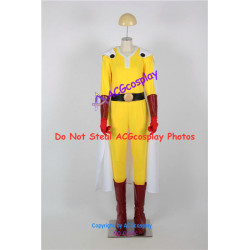 One-Punch Man Cosplay Saitama Cosplay Costume include boots covers
